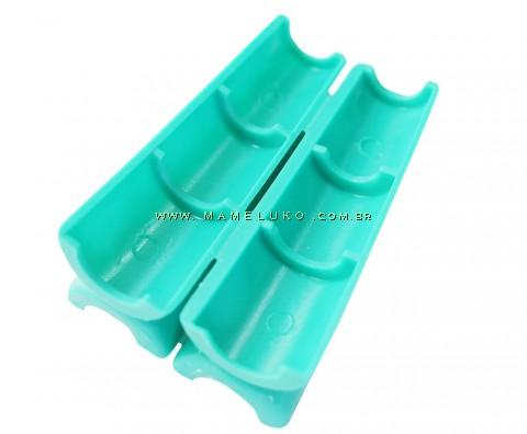 Apoio seguro para abrir ampolas de 1 ml a 20 ml - Verde