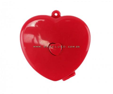 Fita Métrica Coração - Vermelho