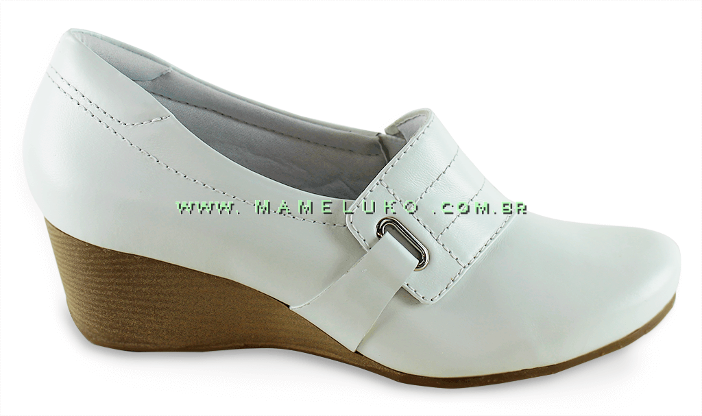 f9d13d68f Anabela Sapato Neftali 4103 - Branco por R$169,90