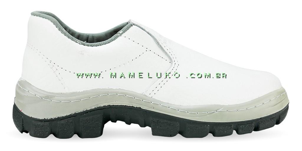 d78bf7013dde3 Sapato em Couro Branco CA 33733 por R 64,90 na Mameluko