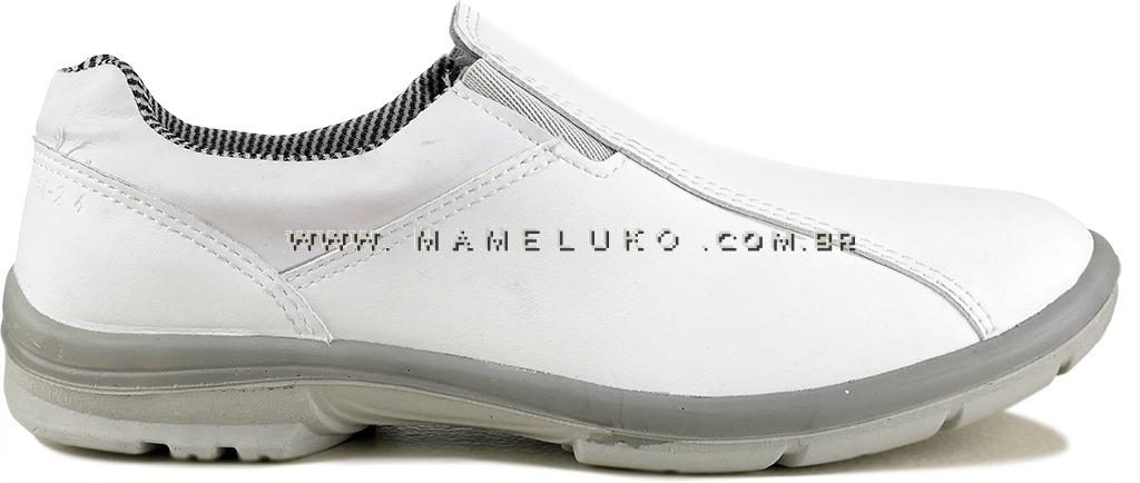 b27587eba8 Sapato Profissional Marluvas Elegance Service Microfibra - Branco