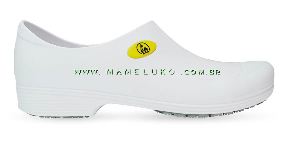 2738b01ee1a40 Sticky Shoe Man Antiestático ESD - Branco por R 109,90