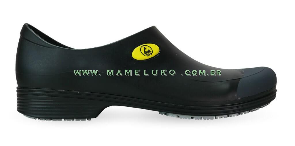 3a48c35208 Sticky Shoe Man Antiestático ESD - COM BICO - Preto