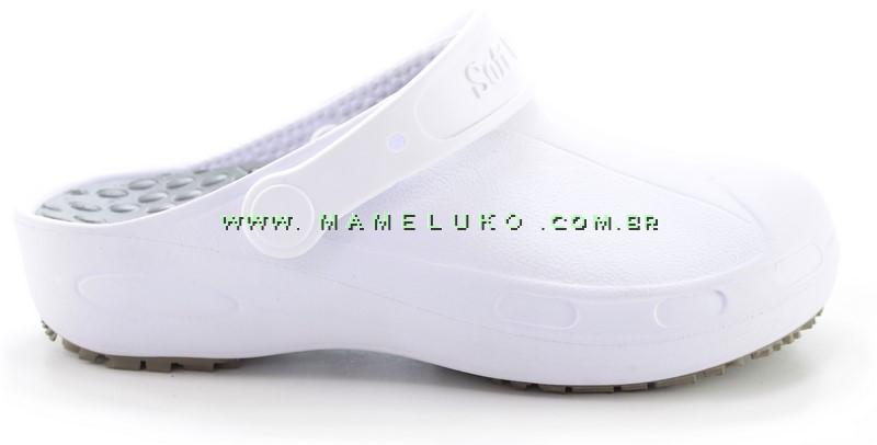 0bebc84bb Babuche Profissional Soft Plus - Branco por R$79,90
