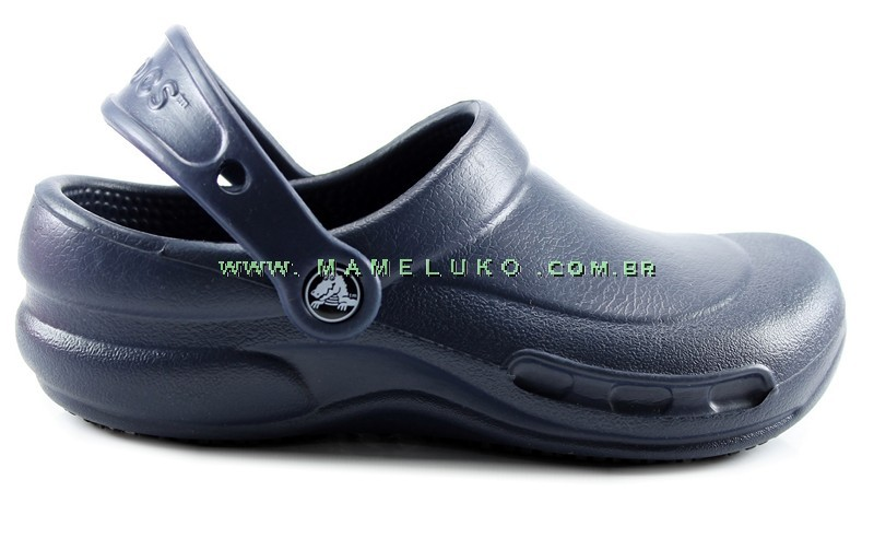 92f1865f8 Babuche Profissional Crocs Bistro - Navy por R$169,90