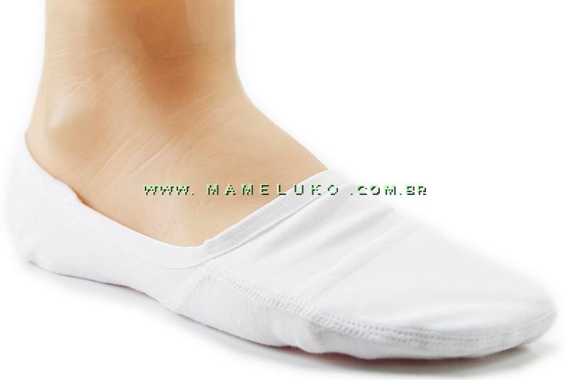 db1624a68 Meia Onfit Invisível Sport - Branco por R 24