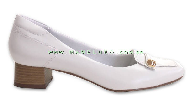 3d7d744c41 Sapato Neftali 3245 - Branco por R 164