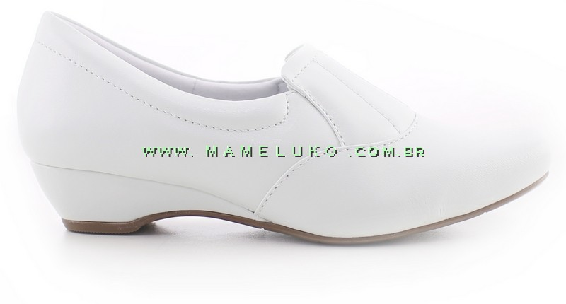 1e132d20a6 Sapato Neftali 3902 Mini Anabela - Branco por R 184