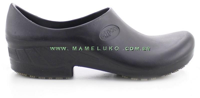 220791a8f Sapato Antiderrapante Sticky Shoe Preto na Mameluko
