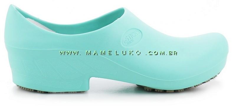 9bc4a8a56 Sapato Antiderrapante Sticky Shoe 2 - Verde Hospitalar