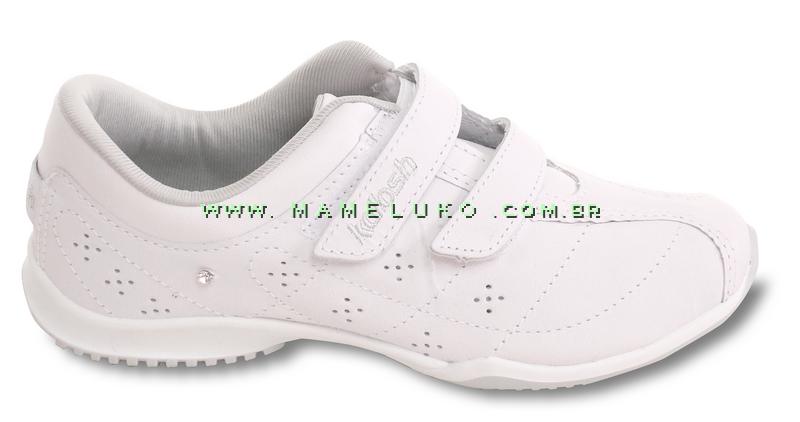 36691c35a Tênis Kolosh C0782 com Velcro Dup Branco na Mameluko