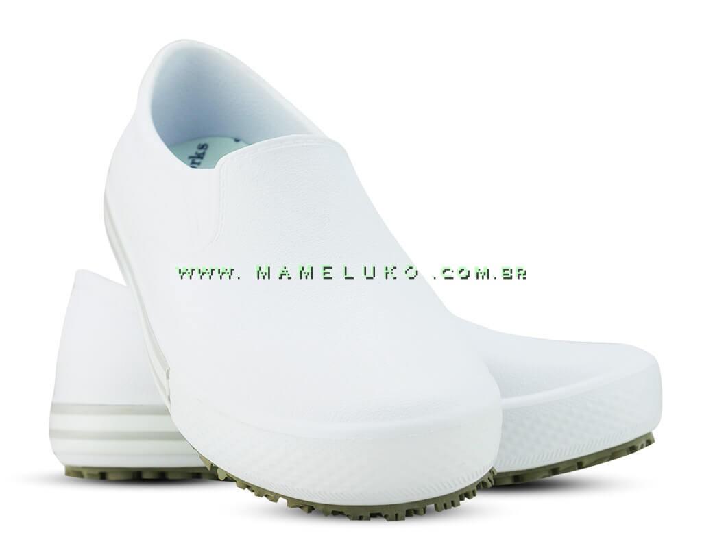 f2e9d77f9426d Tenis Profissional Iate Works II BB80 - Branco (Revirão Bege)