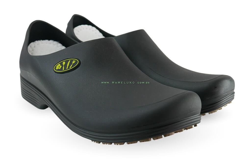 f7cbd63c9c616 ... Sapato Antiderrapante Sticky Shoe Go Cook Man - Talheres ...