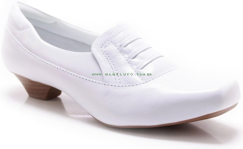 8082b3f943 Sapato Neftali 3513 - Branco por R 179