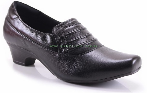 d9d0b7fb16 Sapato Neftali 4015 - Preto por R 169