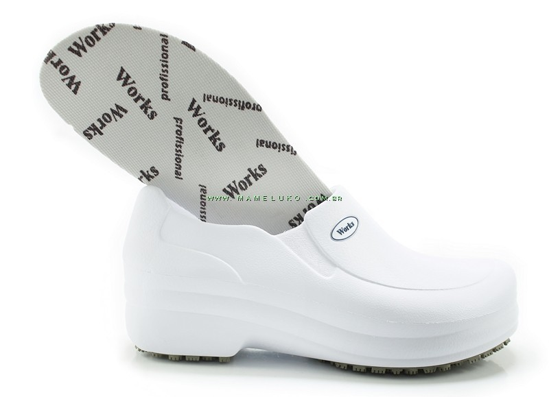 Sapato Profissional Works II - Bra Branco na Mameluko 7fffcfad1c