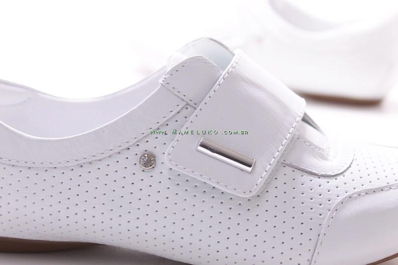 b51194238 Sapato Neftali 2064 para enfermeir Branco na Mameluko