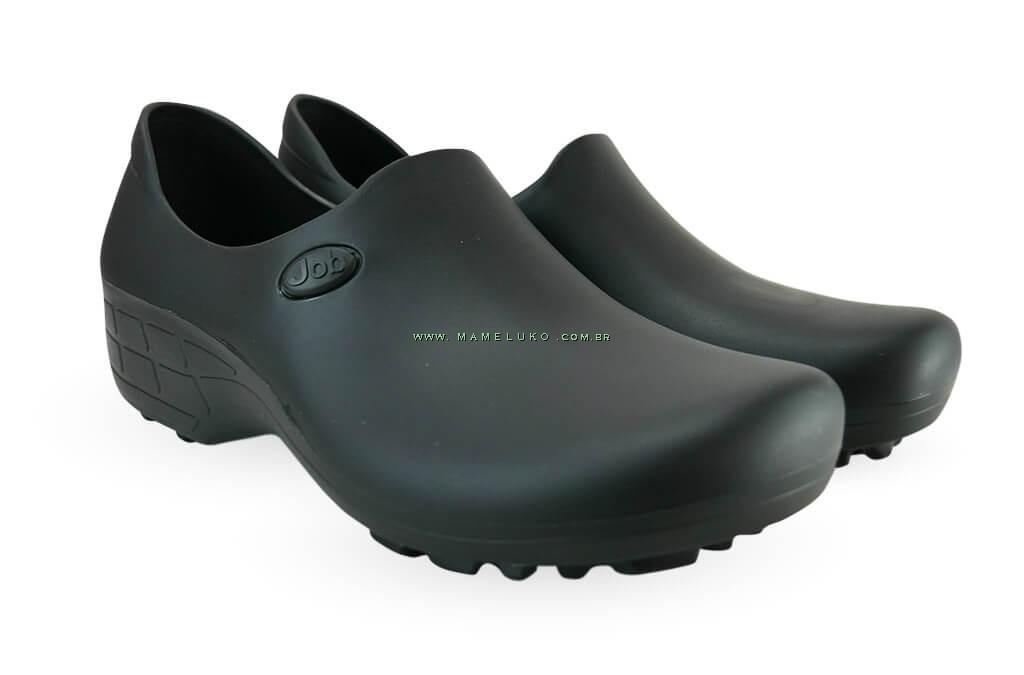 f598c69e7 ... Sapato Antiderrapante para Terrenos Arenosos Sticky Shoe JOB Woman -  Preto ...
