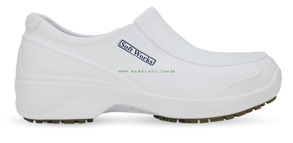 Sapato de Segurança com BICO DE COMPOSITE - Branco ... e3d1f09315
