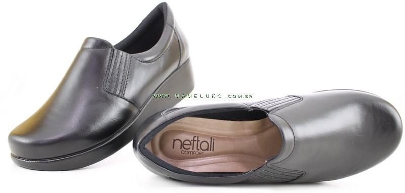 2851f5c11 Sapato Neftali Light Work 4201 - Preto por R$169,90
