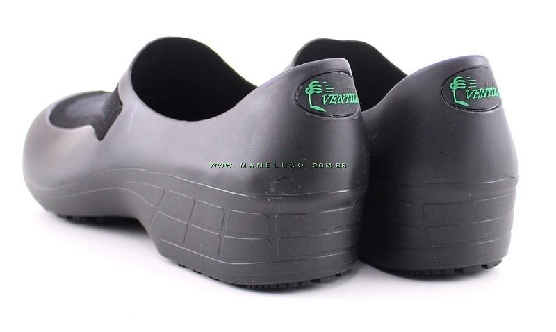 52fc3db68e2 Sapato Profissional Ventila - Preto por R 89