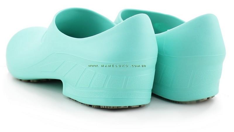 f61f49112 ... Sapato Antiderrapante Sticky Shoe 2 - Verde Hospitalar ...