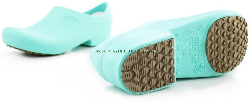4377267fee ... Sapato Antiderrapante Sticky Shoe 2 - Verde Hospitalar ...