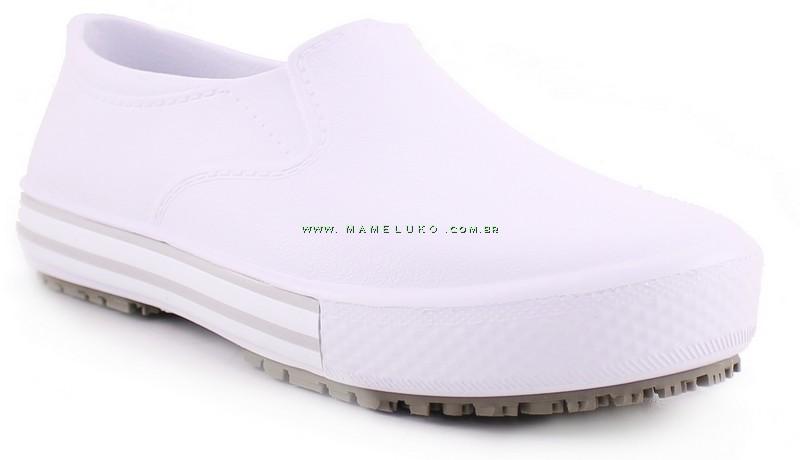 545419a0f9 Tenis Profissional Iate Works II BB80 - Branco (Revirão Bege) ...