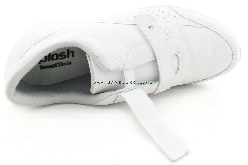 1fb50860e3a ... Tênis Kolosh C0307 Anabela com Velcro Duplo - Branco ...