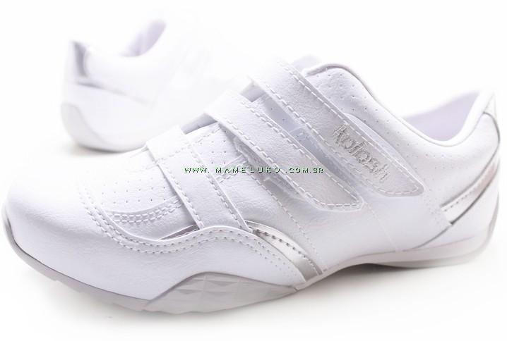 475d3ee69 ... Tênis Kolosh K9352 Duplo Velcro - Branco ...