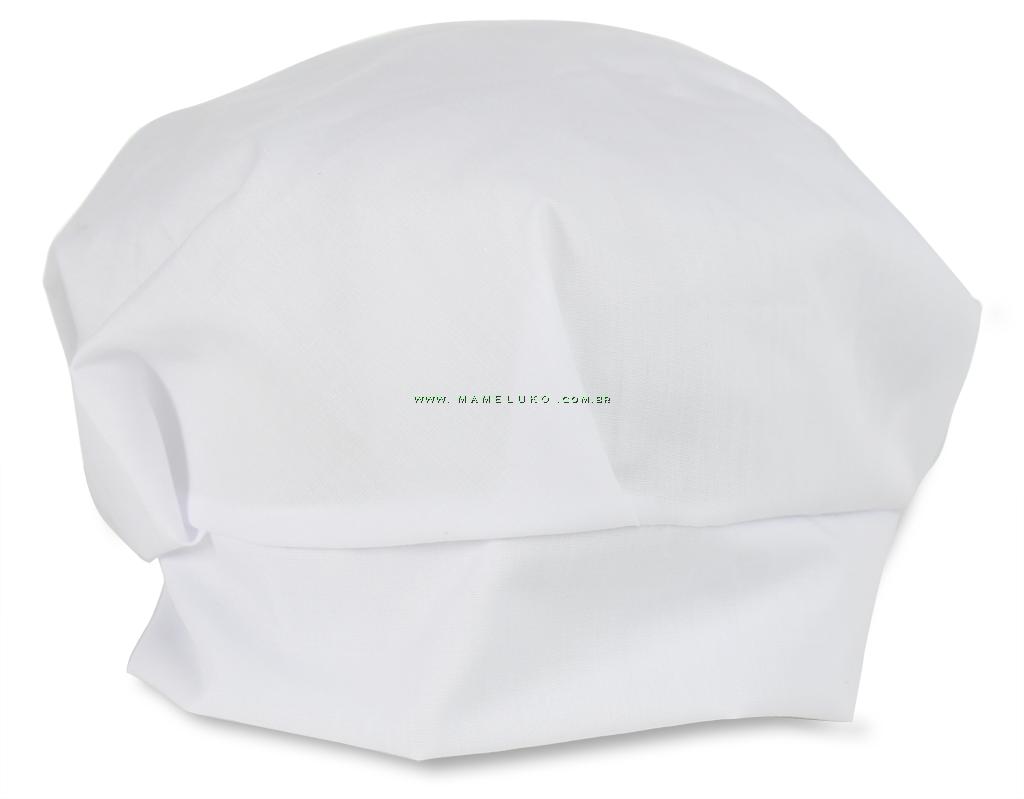 7307c6f0f795d Touca de Chef - Branca por R 27