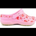 Babuche Profissional Soft Works Estampado Rosa - Eletro Coração