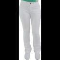 Calça Feminina Cintura Alta com Stretch - Branco