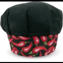 Touca Gourmet Profissional - Pimenta Preta