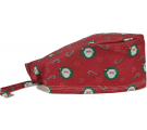 Bandana Profissional Papai Noel - Vermelho
