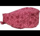 Bandana Profissional Flores Dálias - Rosa