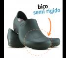 Sticky Shoe Woman Antiderrapante com Bico - Preto