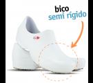 Sapato Antiderrapante Sticky Shoe Florence (COM BICO) - Eletro Coração-Branco