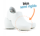 Sticky Shoe Woman Antiderrapante com Bico - Branco