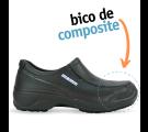 Soft Works com BICO DE COMPOSITE CA 41.554 - Preto