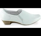 Sapato Neftali Salto Baixo 3822 - Branco
