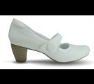 Sapato Boneca Neftali Salto Alto 4782 - Branco