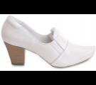 Sapato Neftali Salto Alto 6903 - Branco
