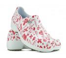 Sapato Profissional Soft Works II Estampado Branco - Ícones Hospital