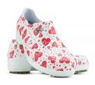 Sapato Profissional Soft Works II Estampado Branco - Eletro Coração