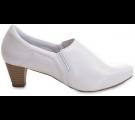 Sapato Neftali Salto Alto 5048 - Branco