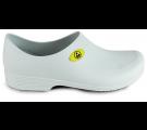 Sticky Shoe Man Antiestático ESD com CA 39847Antiderrapante - Branco