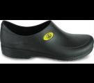 Sticky Shoe Man Antiestático ESD - SEM BICO - Preto