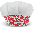 Touca Gourmet Profissional - Pimenta Branca