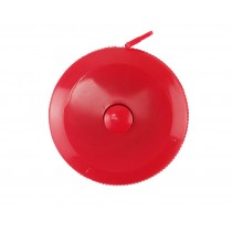 Fita Métrica 1,50m Redonda - Vermelha